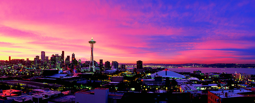 Queen Anne View, Seattle, Washington, USA.  A Limited Edition Print by John Shephard - John Shephard Phography